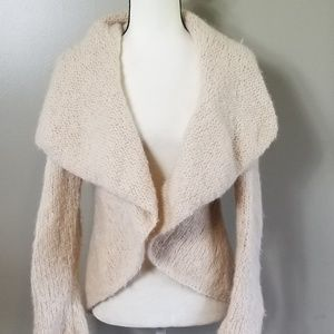 ANTHROPOLOGIE Ivory Cashmere Sweater